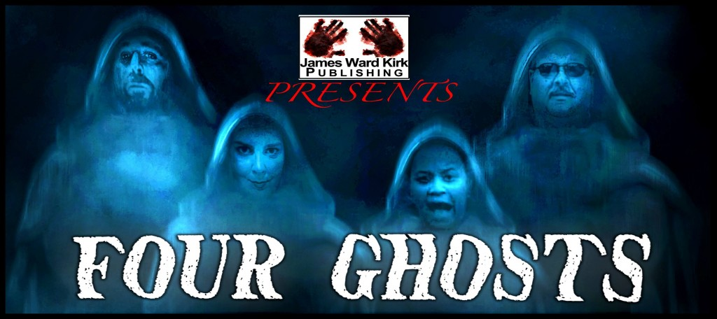 Four Ghosts featuring author Paula D Ashe with Mater Nihil