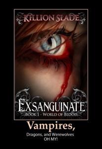 Exsanguinate Urban Fantasy Vampire Series