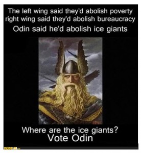 Meme of Odin