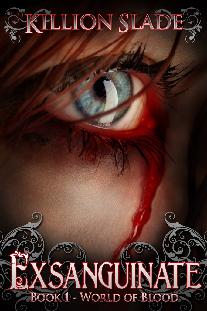 Exsanguinate - Book 1 World of Blood Series Official Book Cover