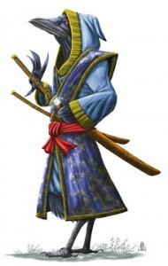 Tengu Samurai by AndrewDeFelice-DeviantArt