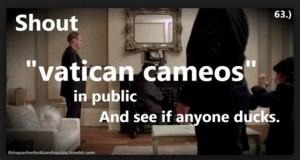 V atican Cameos with Sherlock Holmes