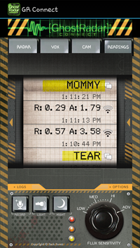 Ghost Radar Mommy Screenshot